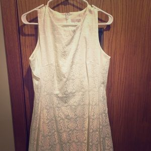 White dress - great for a wedding rehearsal!